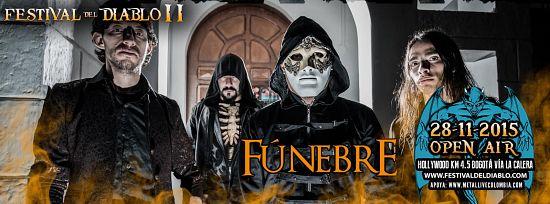 Funebre, Imagenes de Bandas de Metal & Rock Colombianas