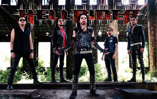 Hellrider, Imagenes de Bandas de Metal & Rock Colombianas