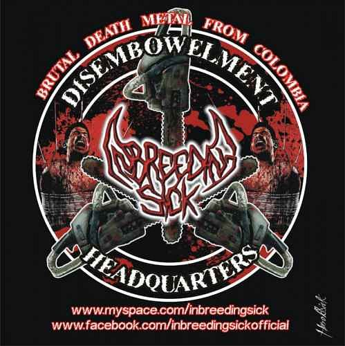 Inbreeding Sick, Imagenes de Bandas de Metal & Rock Colombianas