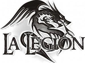 La Legion, Bandas de  de .