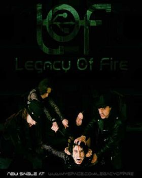 Legacy Of Fire, Bandas de Industrial Metal de Bogota.
