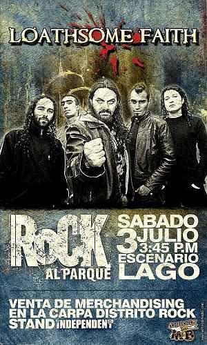 Loathsome Faith, Imagenes de Bandas de Metal & Rock Colombianas
