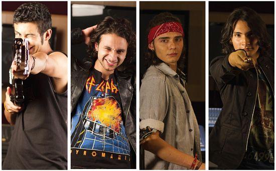 Los Míchicos, Imagenes de Bandas de Metal & Rock Colombianas