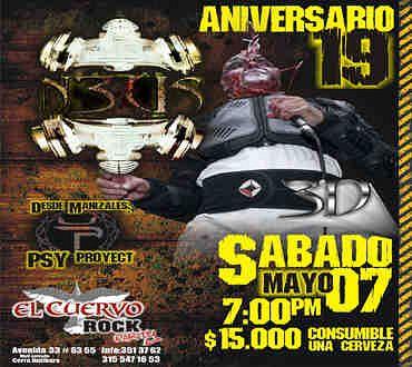 Neus, Imagenes de Bandas de Metal & Rock Colombianas
