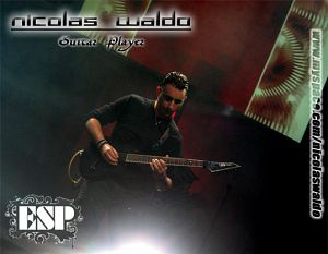 Nicolas Waldo, Bandas de  de .