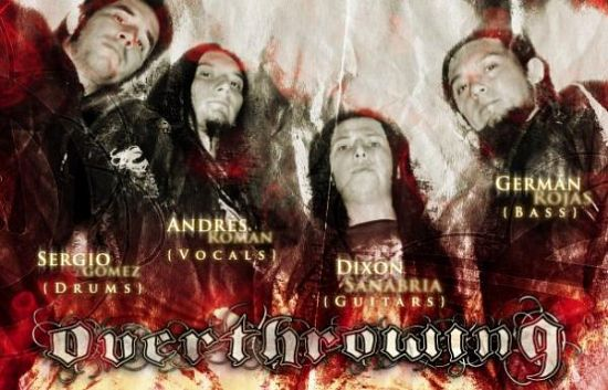 Overthrowing, Imagenes de Bandas de Metal & Rock Colombianas