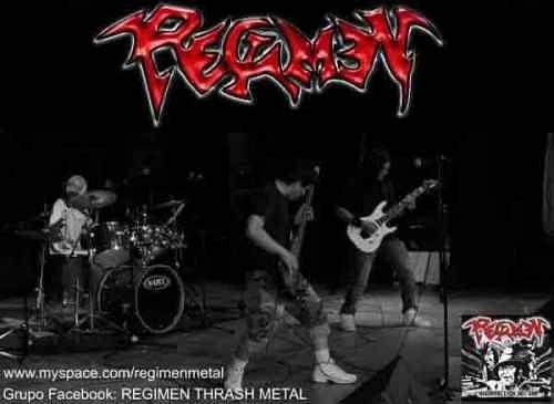 Regimen, Imagenes de Bandas de Metal & Rock Colombianas