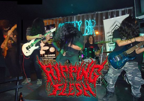 Ripping Flesh, Imagenes de Bandas de Metal & Rock Colombianas