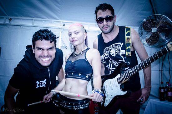 Rosita Y Los Nefastos, Imagenes de Bandas de Metal & Rock Colombianas