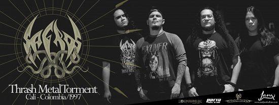 Sagros, Imagenes de Bandas de Metal & Rock Colombianas