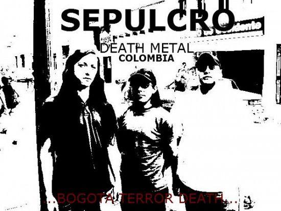 Sepulcro, Imagenes de Bandas de Metal & Rock Colombianas