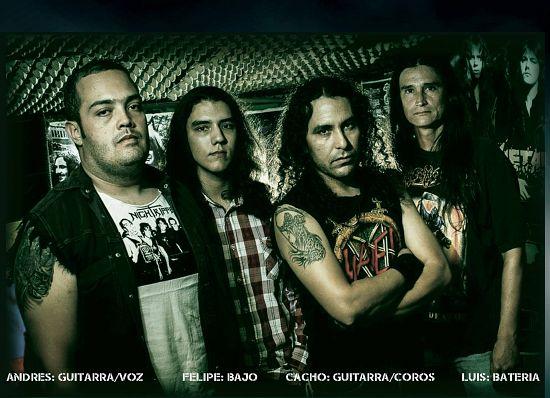 Shellfire, Imagenes de Bandas de Metal & Rock Colombianas