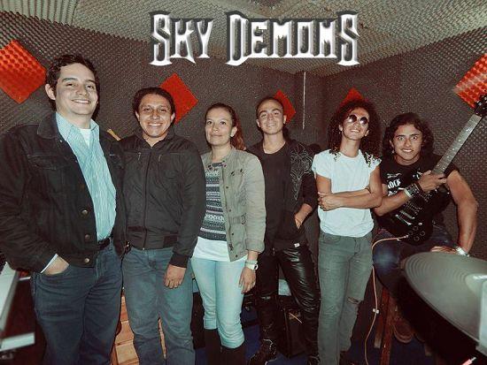Sky Demons, Imagenes de Bandas de Metal & Rock Colombianas