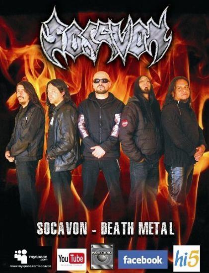 Socavon, Imagenes de Bandas de Metal & Rock Colombianas