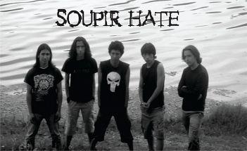 Soupir Hate, Bandas de Metal de Sibate.