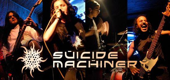 Suicide Machinery, Imagenes de Bandas de Metal & Rock Colombianas