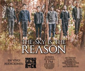 The Sky Is The Reason, Bandas de Metalcore Experimental de Manizales.