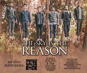 The Sky Is The Reason, Bandas de Metalcore Experimental de Manizales.