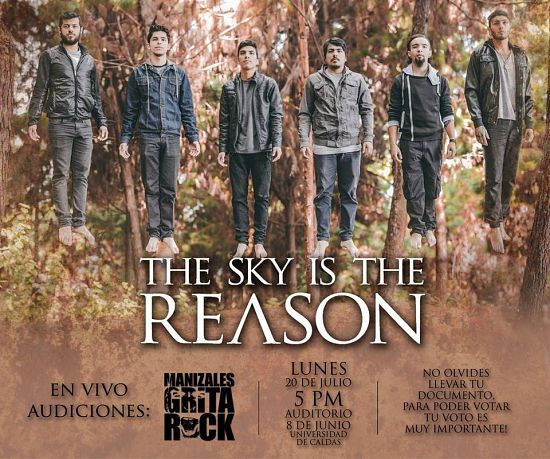 The Sky Is The Reason, Imagenes de Bandas de Metal & Rock Colombianas