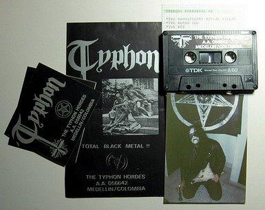 Typhon: La Vieja Escuela del Black Metal en Colombia