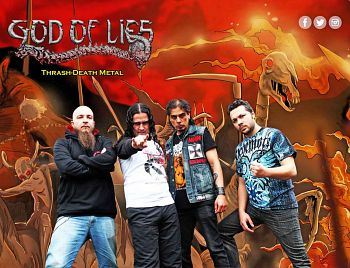 God Of Lies, Bandas de Thrash Death Metal de Medellin.