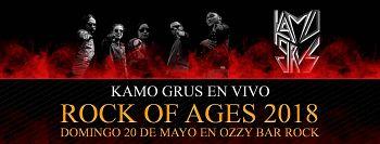 Kamo Grus, Bandas de Heavy Metal de Bogota.