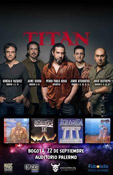 Titan, Bandas de Rock, Heavy En Castellano de Medellin.