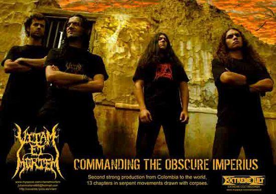 Vitam Et Mortem, Imagenes de Bandas de Metal & Rock Colombianas