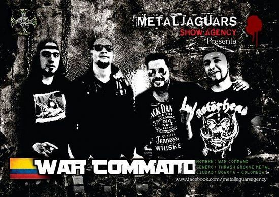 War Command, Imagenes de Bandas de Metal & Rock Colombianas