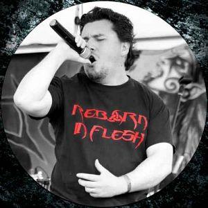 Adrian Linares - Reborn In Flesh, Músicos Metaleros y Rockeros