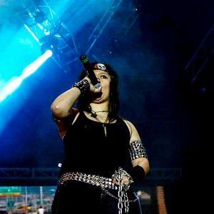Andrea Avila - Agressor, Músicos Metaleros y Rockeros