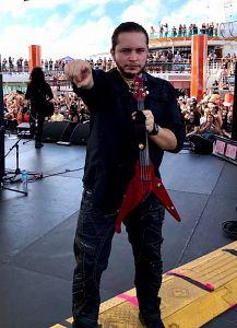 David Rivera - Tenebrarum, Músicos Metaleros y Rockeros
