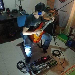 Gustavo Berrio - Abstract Enemy, Músicos Metaleros y Rockeros