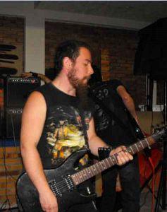Javier Marin - Sathaxia, Músicos Metaleros y Rockeros