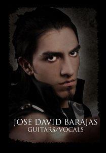 Jose David Barajas - Nova Orbis, Músicos Metaleros y Rockeros
