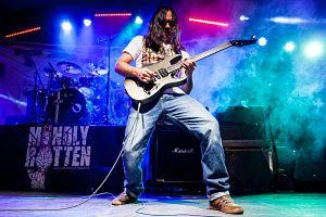 Mauricio Gallon - Mindly Rotten, Músicos Metaleros y Rockeros